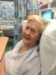 Jean in hospital