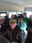 members-on-minibus
